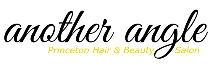 Logo for Another Angle hair salon in Princeton, NJ